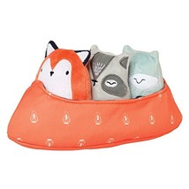 Manhattan Toy Camp Acorn Canoe Buddies Soft Stuffed Animal Baby Toy - $26.60
