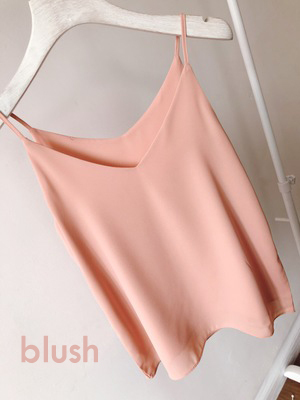 Bridesmaid chiffon tops blush 5