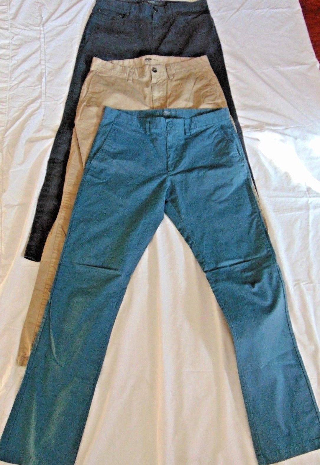 793d31af228 Old Navy 3 Assorted Men s Khaki Dress Pants and 50 similar items. 57