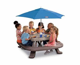 Kids Backyard Plastic Picnic Table and Benchs – for Children Aged 3 and ... - $195.33