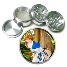 Cosplay Pin Up Girls D20 63mm Aluminum Kitchen Grinder 4 Piece Herbs & Spices - $13.81