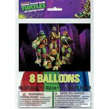 """12"""" Teenage Mutant Ninja Turtles Latex Balloons, 8ct - $5.87"""