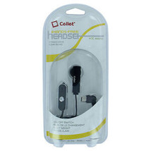 Black Single Ear Hands Free Earpiece with Mic & On/Off Button for HTC Mono - $21.61
