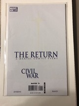 Civil War The Return #1 First Print (2007) - $9.00