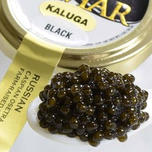 Kaluga Fusion Sturgeon Caviar, Black - Malossol, Farm Raised - 1.75 oz, ... - $99.34
