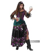 California Trajes Mística 'Charmer' Gypsy Fortune Adulto Disfraz Halloween 01108 - $46.93