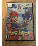 Mario And Sonic At The Olympic Beijing Games For Nintendo Wii Very Good - $79.19