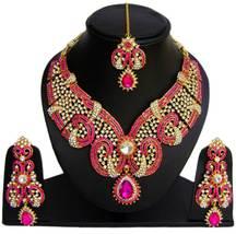 Zicsy Fabulous Necklace CZ Alloy Jewelry Set Combo BOi59 - $39.99