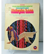 Hairpin Lace with crochet & hairpin lace vintage book patterns for hat &... - $12.00