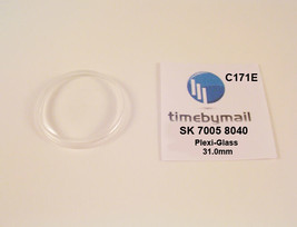 New Watch Crystal For SEIKO 7005 8040 Automatic Plexi-Glass New Spare Pa... - $18.96