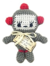 Mirage Pet Products 500-018 Knit Knacks Baby Bot Organic Cotton Dog Toy, Small - $14.99