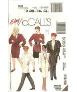 McCall's 5056 Misses' Wrap-Jacket Dress Top Tie Belt Cowl Skirt & Pants ... - $12.47