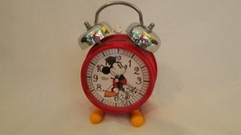 Disney Mickey Mouse Alarm Clock, Metal 6.5 inches Tall - $11.49