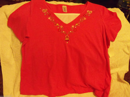 Simply Basic Pink Lovebirds Shirt Size 3X Women's NEW  HTF - $18.40