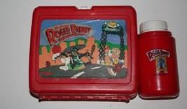 1987 Walt Disney Co. Who Framed Roger Rabbit Lunch Box and Thermos - $8.99