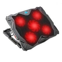 Laptop Cooler, Tenswall 5 Quiet Fans Laptop Cooling Pad for 13-17 Inch L... - €28,56 EUR