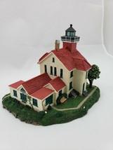 "The Danbury Mint ""Grand Traverse Light"" Authentic Lighthouse Sculpture - $28.05"