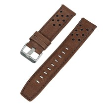 22mm Voguestrap Brown Leather Band Fits Timex Watch T49782 T49627 T49625... - $9.64