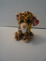 TY Beanie Baby SPOTTY the Leopard 6 inch stuffed Animal Toy 2015 MINT - $7.00