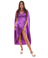 Adult Women's Costume for Cosplay Game of Thrones Dragon Queen Lt Purple... - £42.86 GBP