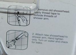 Body Moods 7651600 Fixed 3 Setting Showerhead Chrome Finish Standard Showers image 3