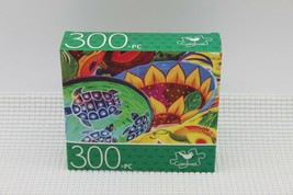 NEW 300 Piece Jigsaw Puzzle Cardinal Sealed 14 x 11, Mexican Pottery - $4.45