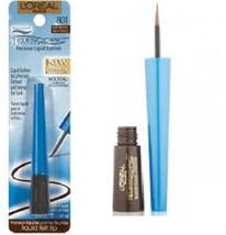 L'Oreal Paris Telescopic Waterproof Precision Liquid Eyeliner Dark Brown... - $12.99