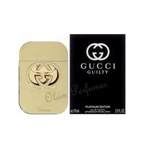e29d99794 Gucci Guilty Platinum For Women Eau de Toilette Spray 2.5oz 75ml * New in  Box