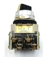 Allen Bradley 800T-H2 Selector Switch 2 Position Ser. N - $11.99