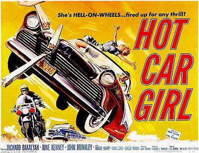 Primary image for Hot Car Girl - 1958 - Movie Poster