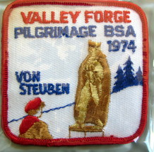 Boy Scouts - 1974 Valley Forge Pilgrimage patch - $9.18