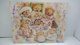 Mary's Bears Tea Party Picnic - 500 pc Springbok Jigsaw Puzzle New Free ... - $19.99