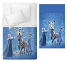 frozen olaf elsa anna sisters Duvet Cover Single or double Bed Size  - $70.00+