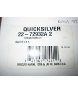 Mercury Quicksilver 22-72932A2  Connection Kit New - $84.14