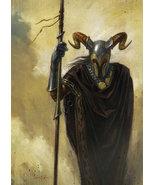 Esheke The Honored Dark Mage. Extreme Power Magick Djinn Demon Vampire S... - $1,400.00