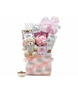 Oh Baby Pink Baby Girl Gift Basket - $44.65