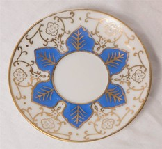 Ardalt Lenwile China Occupied Japan Blue & Gold Tea­ Cup Saucer g25 - $9.89