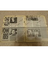 Chad Allen Vonni Ribisi teen magazine pinup clipping Mt Two Dads Teen Beat - $2.50