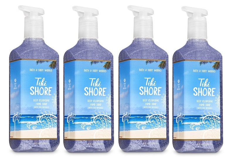 Tiki shore deep cleansing soap w sea minerals 4 pack