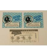 Universal Studios Florida Vintage 1996 Used Ticket Stub Studio Pass Park... - $17.99