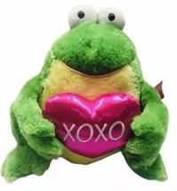 "Aurora World XOXO Heart Frog Soft Plush Heart 12"" Stuffed Animal Valentines - $22.91"