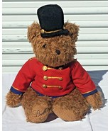 Vintage 1999 Belkie Teddy Bear Toy Soldier British Guard Jointed Christm... - $19.95