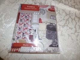 Popular Bath Fashion Shower Curtain, Fashion -multi - $19.45