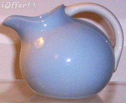HOMER LAUGHLIN KRAFT BLUE NOVELTY CREAMER - $29.95