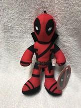 "Marvel Deadpool Stuffed Plush Doll Toy 9"" Plushie - $14.84"