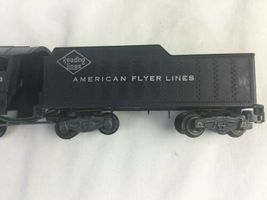 American Flyer Train Locomotive and Tender #303 Reading Lines AS IS For Parts image 3