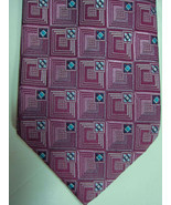 NEW Ermenegildo Zegna Light Purple With Blue Highlights Silk Tie Italy - £58.57 GBP
