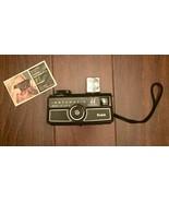Vtg Kodak Instamatic 44 Camera with Instructional Booklet - uses 126 film - $24.75