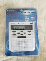 Weather Radio Midland WR-100 Public Alert gets NOAA Emergency broadcasts - $31.88