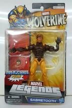 Marvel Legends Wolverine Sabretooth X-Men Build A Figure Puck - $52.02